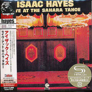 Isaac Hayes - Live At The Sahara Tahoe Japan SHM-2CD Mini LP UCCO-9517/8