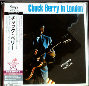 Chuck Berry In London Japan SHM-CD Mini LP UICY-94632