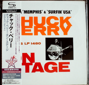 Chuck Berry On Stage Japan SHM-CD Mini LP UICY-94630 Limited
