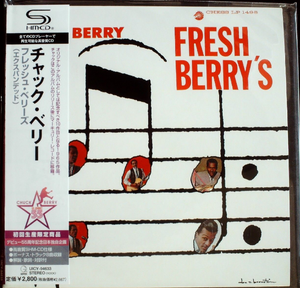 Fresh Berry's By Chuck Berry Japan SHM-CD Mini LP UICY-94633