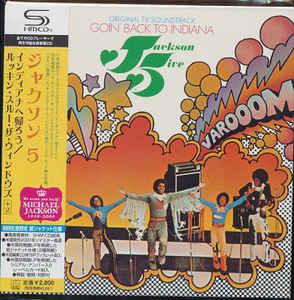 The Jackson 5 - Goin' Back To Indiana Japan SHM-CD Mini LP UICY-94294