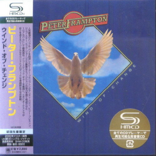 Peter Frampton - Wind Of Change Japan SHM-CD Mini LP UICY-93597