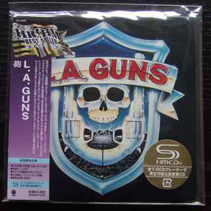 L.A. Guns - L.A. Guns S/T Japan SHM-CD Mini LP OBI UICY-94509