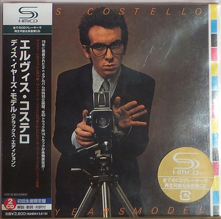 Elvis Costello This Year's Model Japan SHM-2CD Mini LP UICY-93537/8
