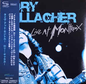 Rory Gallagher - Live At Montreux Japan SHM-CD Mini card LP HMCX-1062