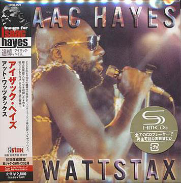 Isaac Hayes - At Wattstax Japan SHM-CD Mini LP UCCO-9521