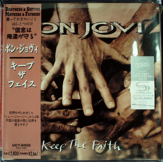 Bon Jovi - Keep the Faith Japan SHM-CD Mini LP UICY-94550 (UICX-1342)