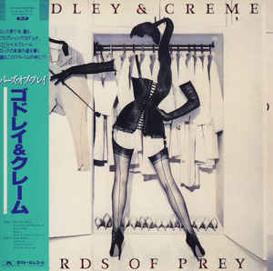 Godley & Creme - Birds of Prey Japan SHM-CD Mini LP UICY-94543
