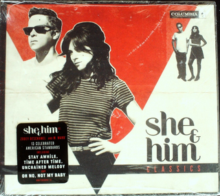 She & Him - Classics CD Sealed Digipak USA