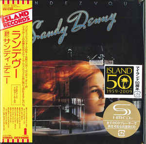 Sandy Denny - Rendezvous Japan SHM-CD Mini LP UICY-94088