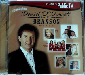 Daniel O' Donnell - Live from Branson Highlights CD Brand New