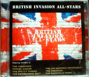 British Invasion All-Stars - Invasion All British CD Sealed Jewel Case Cracked