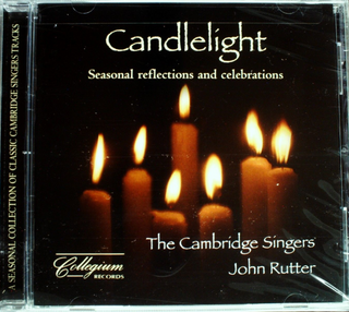Rutter/Cambridge Singers Candlelight: Seasonal Reflections & Celebrations CD NEW