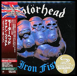 Motorhead - Iron Fist Japan SHM-2CD Mini LP OBI UICY-93912/3