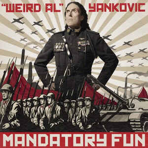 Weird Al Yankovic - Mandatory Fun CD Sealed Jewel Case Cracked