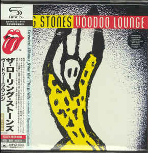 The Rolling Stones - Voodoo Lounge Japan SHM-CD Mini LP UICY-94582
