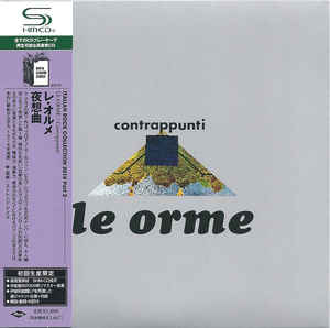 Le Orme - Contrappunti Japan SHM-CD Mini LP UICY-94526