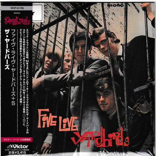 The Yardbirds - Five Live Yardbirds Japan Mini LP VICP-61790