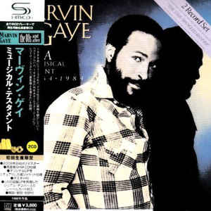 Marvin Gaye A Musical Testament 1964-1984 Japan SHM-2CD Mini LP UICY-94128/9