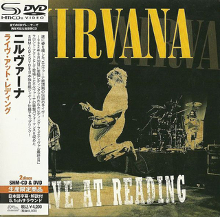 Nirvana - Live At Reading Japan SHM-CD+DVD Mini LP UICY-94346