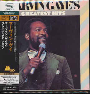 Marvin Gaye - Marvin Gaye's Greatest Hits Japan SHM-CD Mini LP UiCY-94044