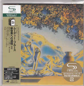 The Moody Blues - The Present Japan SHM-CD Mini LP UICY-93721