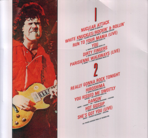 Gary Moore - White Knuckles Japan SHM-CD Mini LP VICP-70144