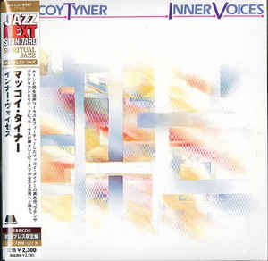 Mccoy Tyner - Inner Voices Japan Mini LP UCCO-9467