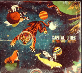 Capital Cities - In A Tidal Wave Of Mystery CD Sealed Digipak USA