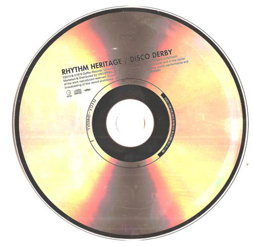 Rhythm Heritage - Disco Derby Japan SHM-CD Mini LP UICY-94657