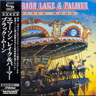 Emerson, Lake & Palmer Black Moon Japan SHM-CD Mini LP VICP-70161