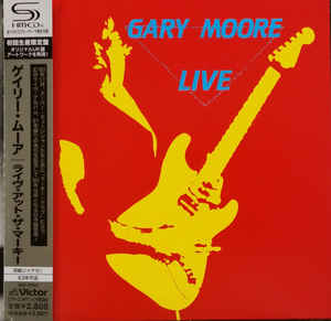 Gary Moore - Live Japan SHM-CD Mini LP VICP-70143